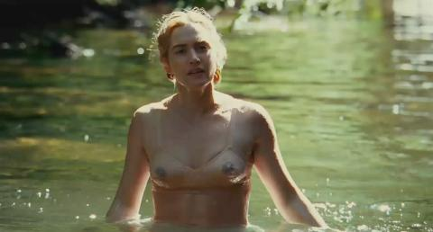 capture Kate Winslet dans the reader (rivière)