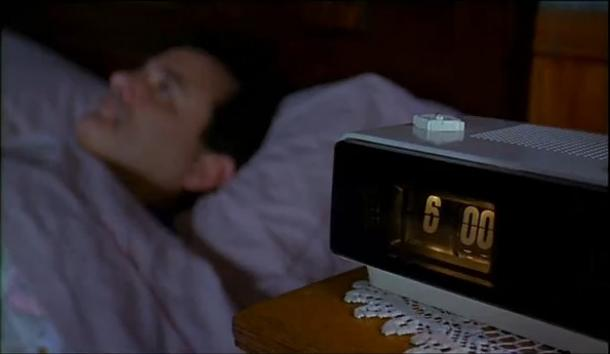 6.00 am Bill Murray's alarm Groundhog's day