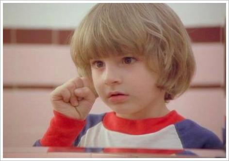 Danny Lloyd dans The shining