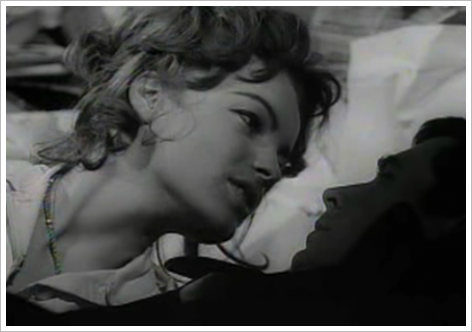 Romy Schneider &amp; Anthony Perkins dans Le Procs d&#039;Orson Welles