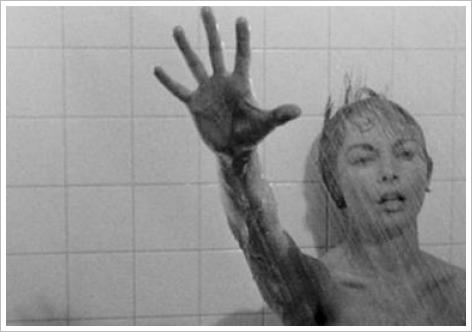 Janet Leigh dans Psychose (scne de la douche)