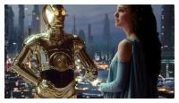 C3PO &amp; Natalie Portman