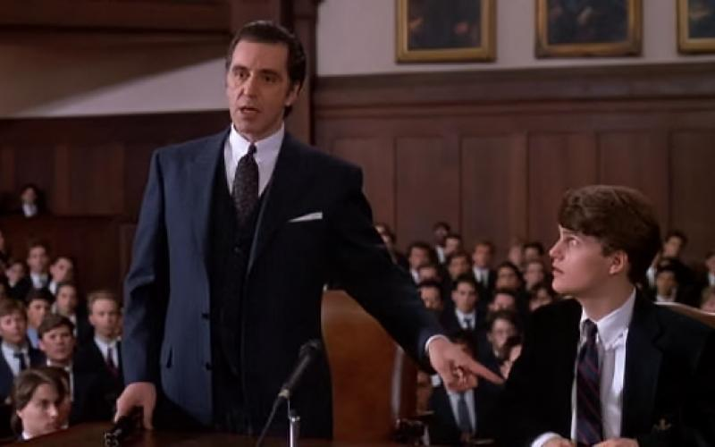 Speech of Al Pacino in scent of a woman